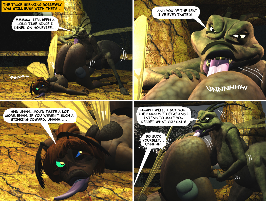 THETA AND THE ROBBERFLY PAGE 1A